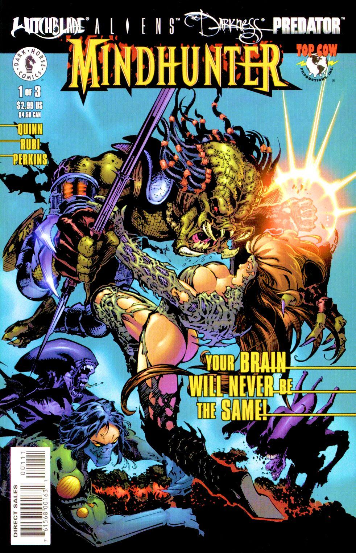 Witchblade/Aliens/The Darkness/Predator: Mindhunter 1 Page 1