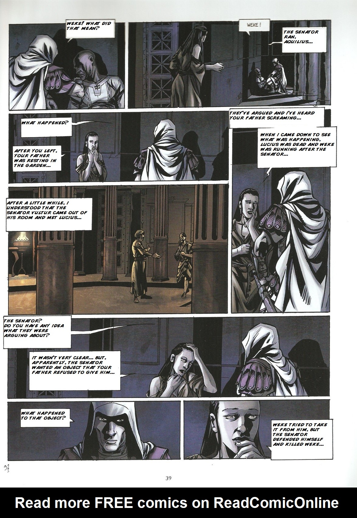 Read online Assassin's Creed (2009) comic -  Issue #2 - 39