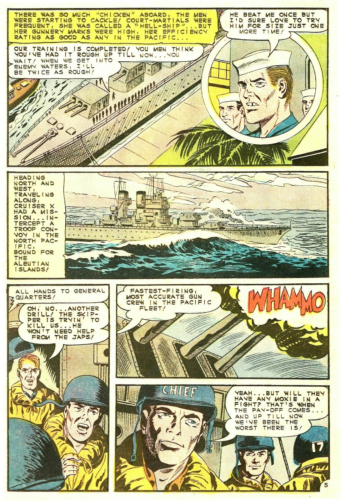 Read online Fightin' Navy comic -  Issue #123 - 19