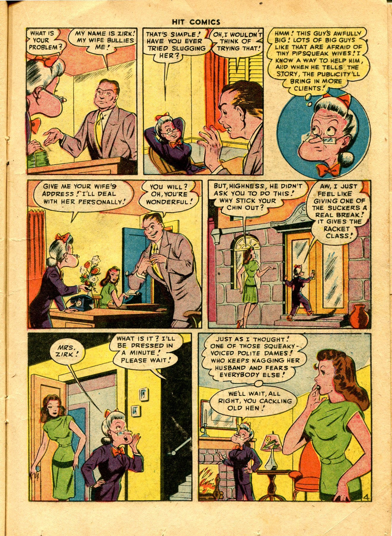 Read online Hit Comics comic -  Issue #48 - 19