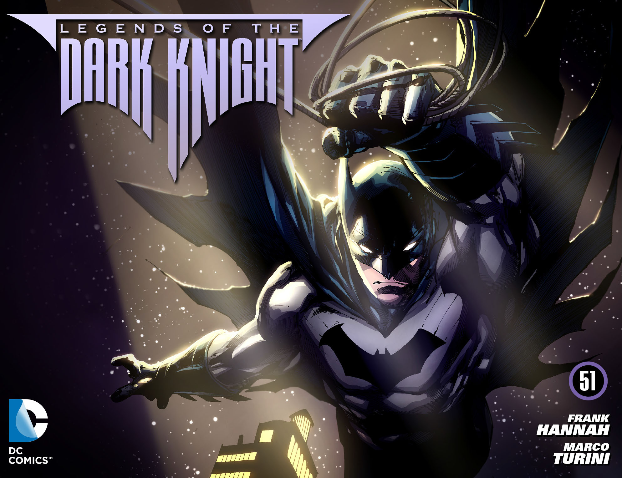 Legends of the Dark Knight [I] issue 51 - Page 1