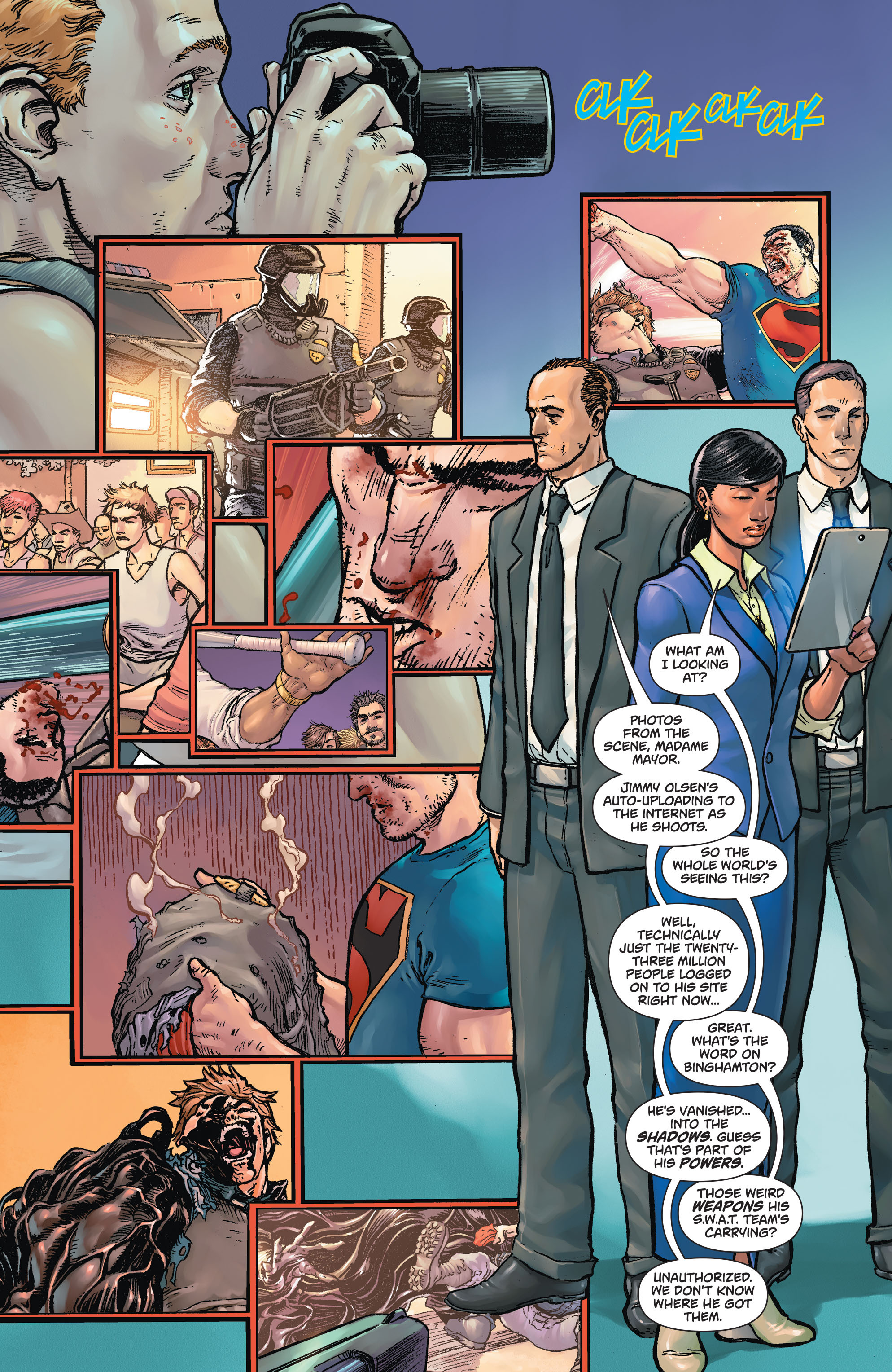 Read online Action Comics (2011) comic -  Issue #43 - 12