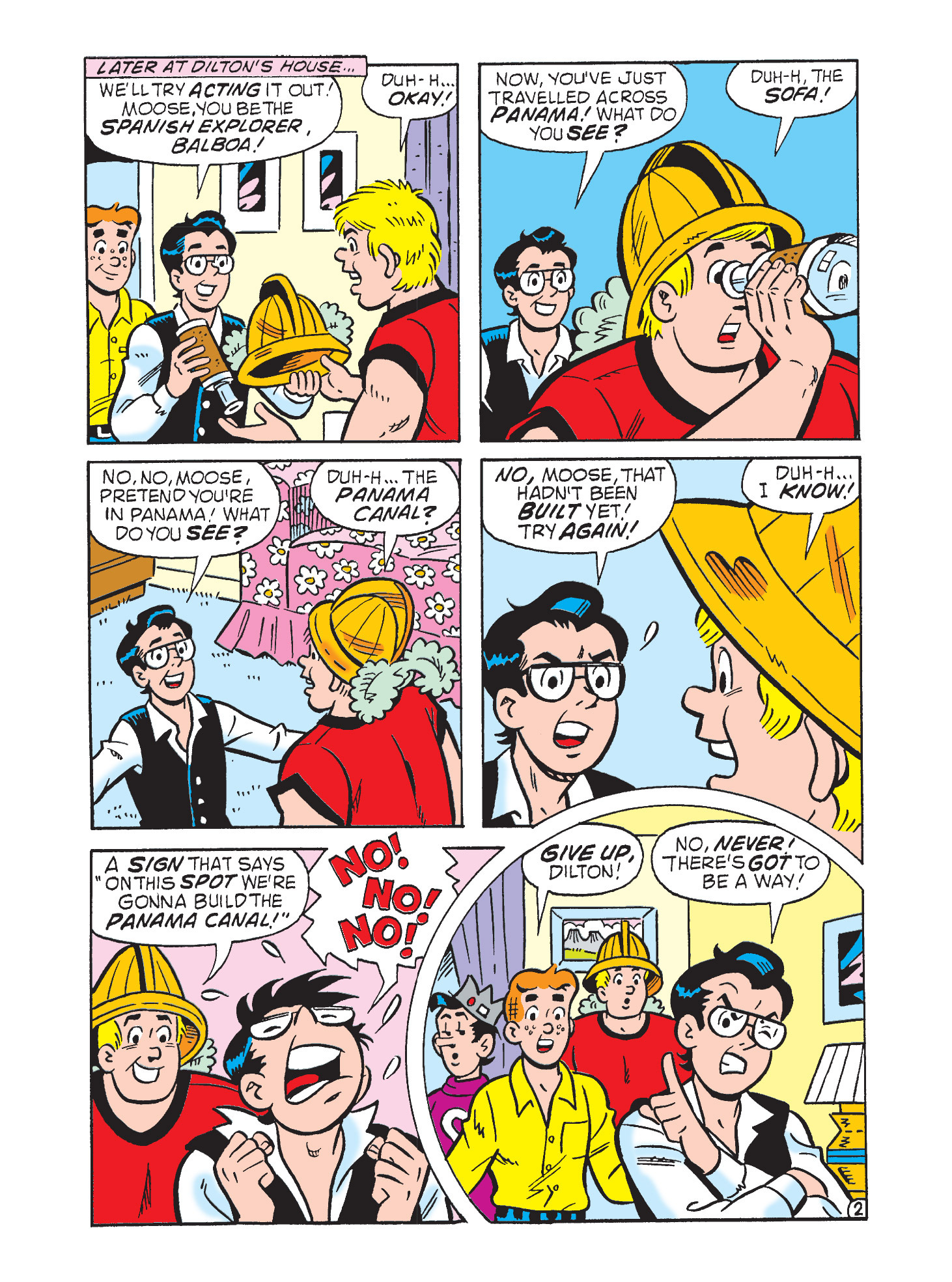 Read online Archie's Funhouse Double Digest comic -  Issue #9 - 118