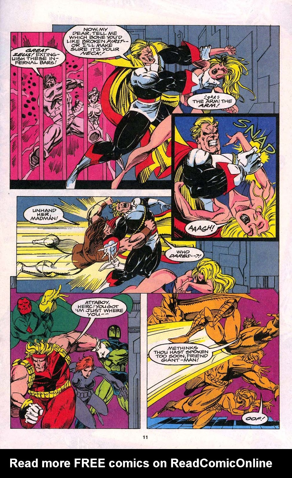 Avengers Unplugged issue 1 - Page 9