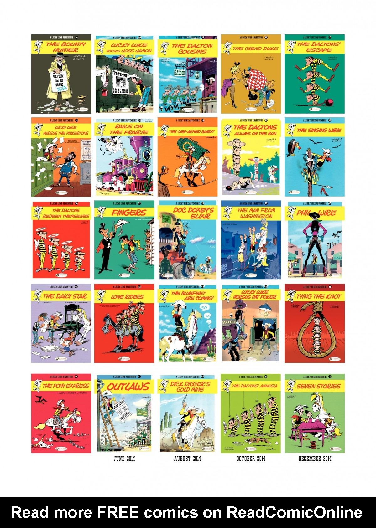 Read online A Lucky Luke Adventure comic -  Issue #46 - 48