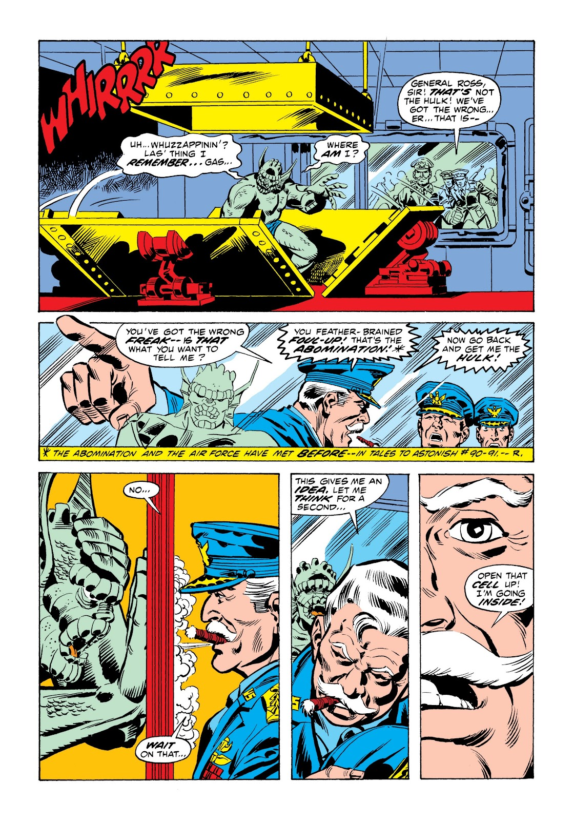 Read online Marvel Masterworks: The Incredible Hulk comic -  Issue # TPB 9 (Part 1) - 62