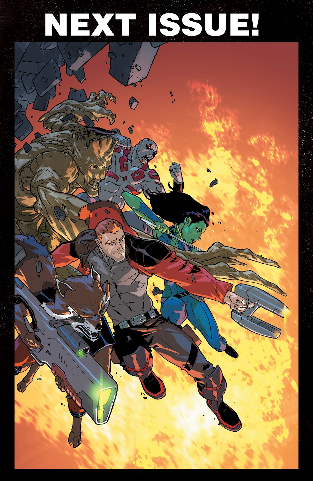 Read online Marvel Universe Guardians of the Galaxy [I] comic -  Issue #3 - 23