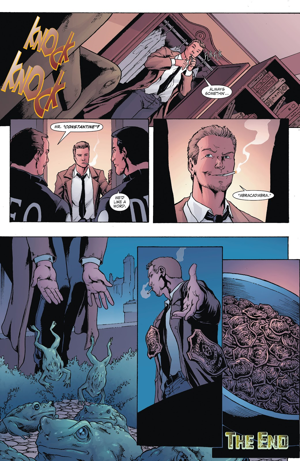 Read online Smallville Season 11 [II] comic -  Issue # TPB 8 - 46