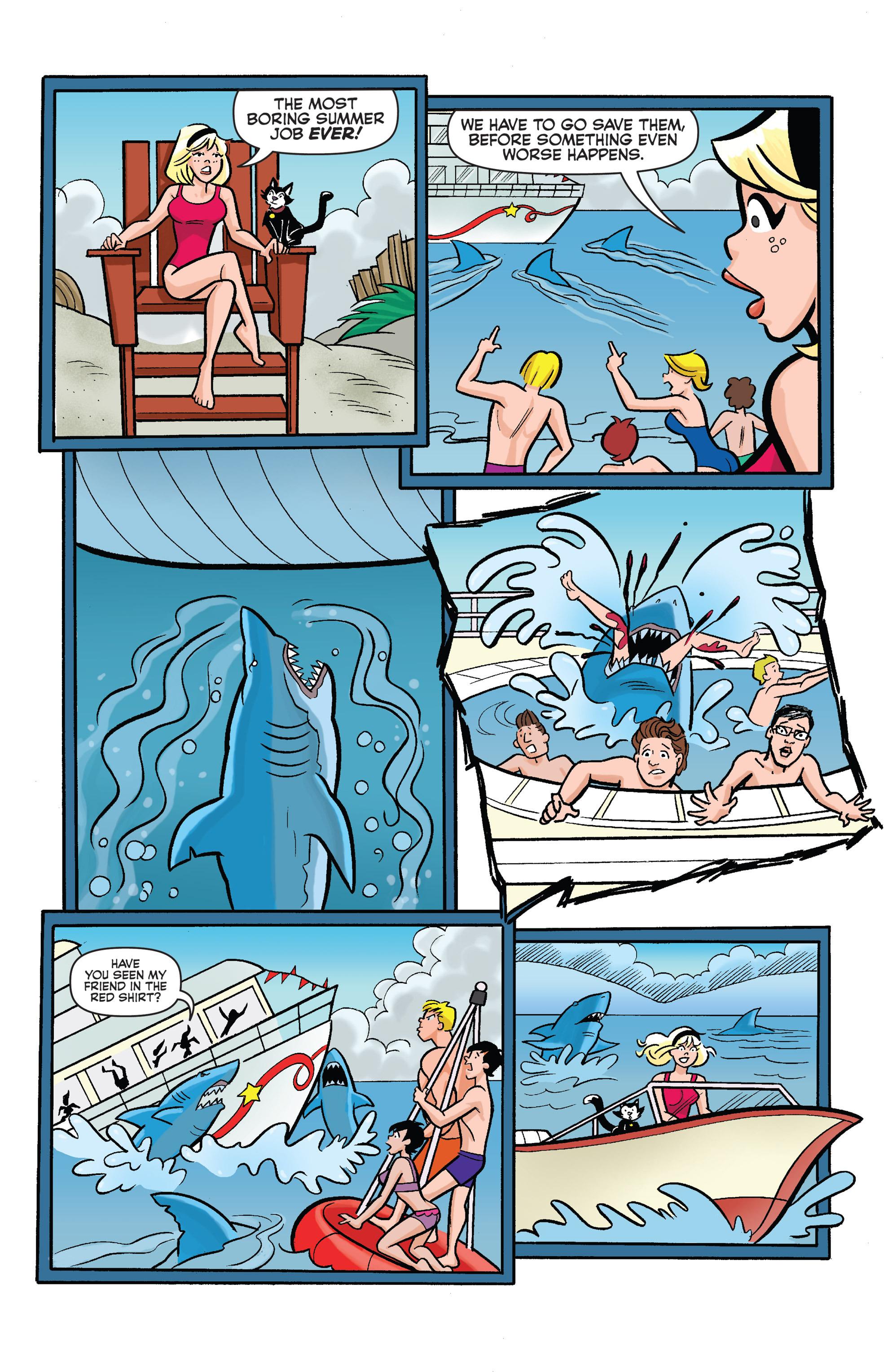 Read online Archie vs. Sharknado comic -  Issue #Archie vs. Sharknado Full - 19