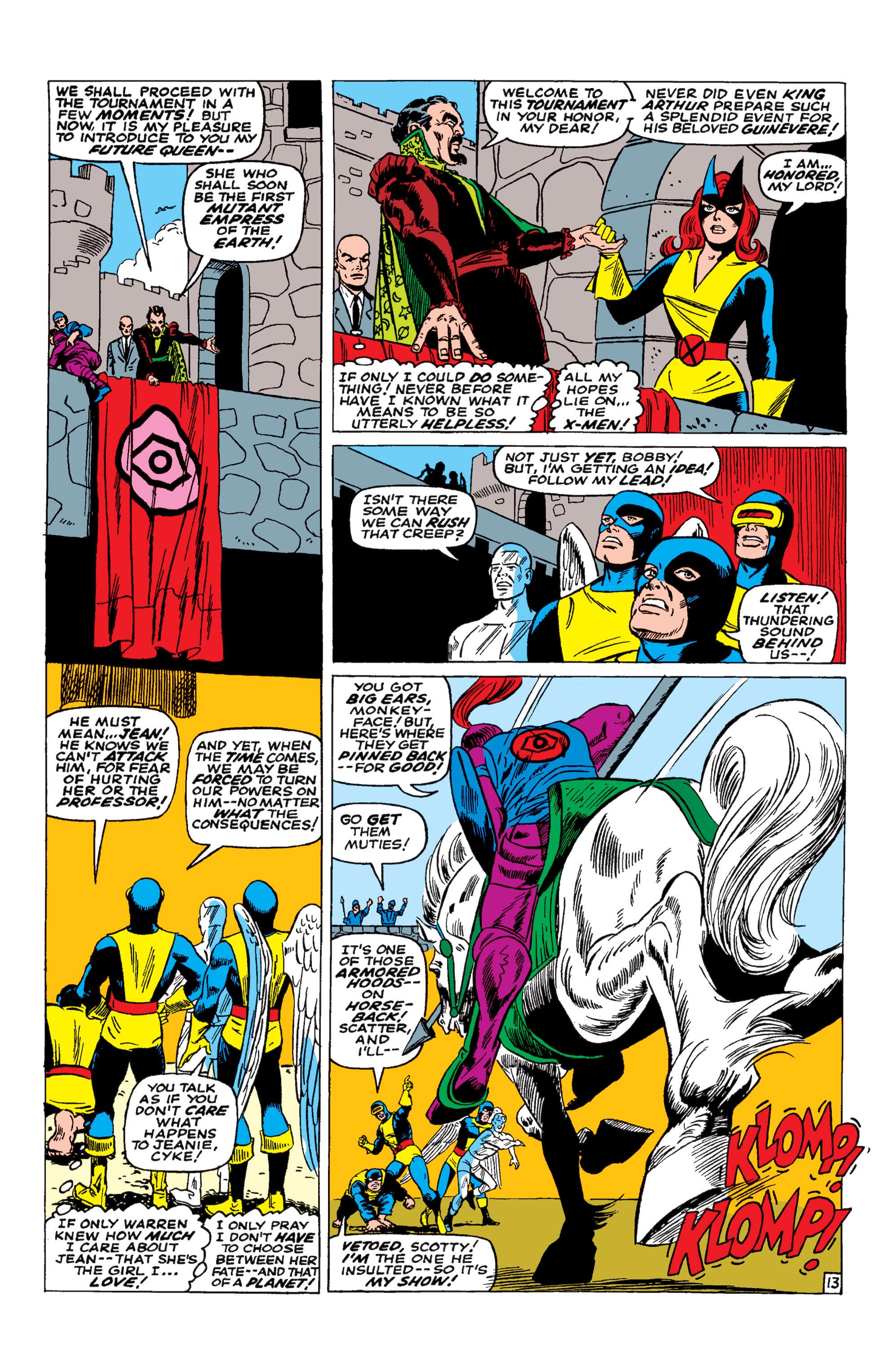 Uncanny X-Men (1963) 30 Page 13
