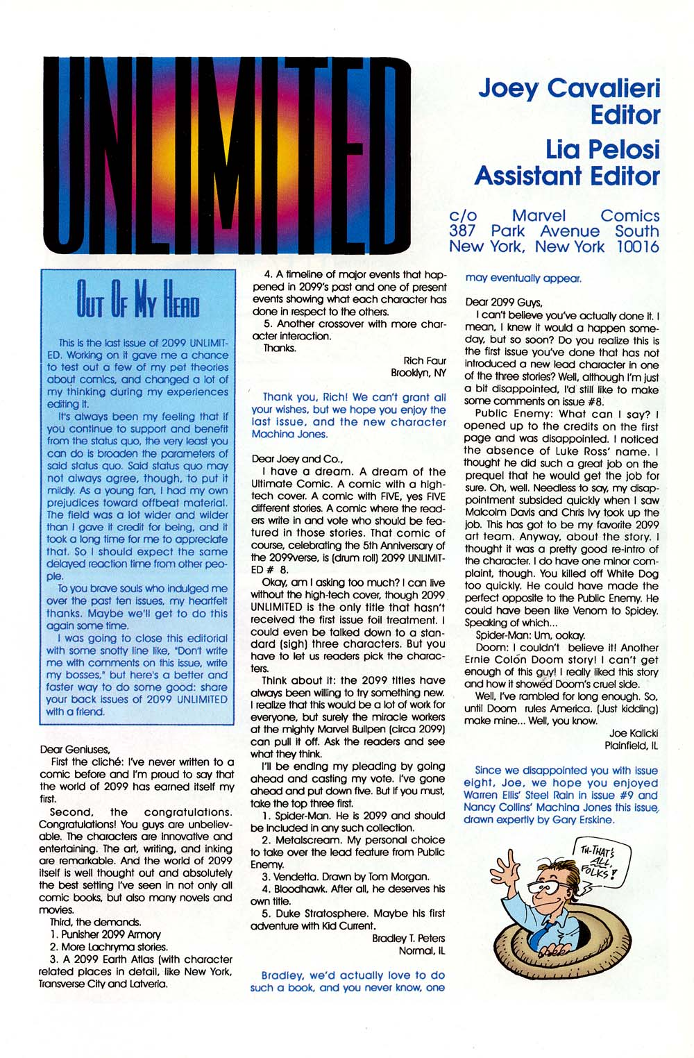 Read online 2099 Unlimited comic -  Issue #10 - 53