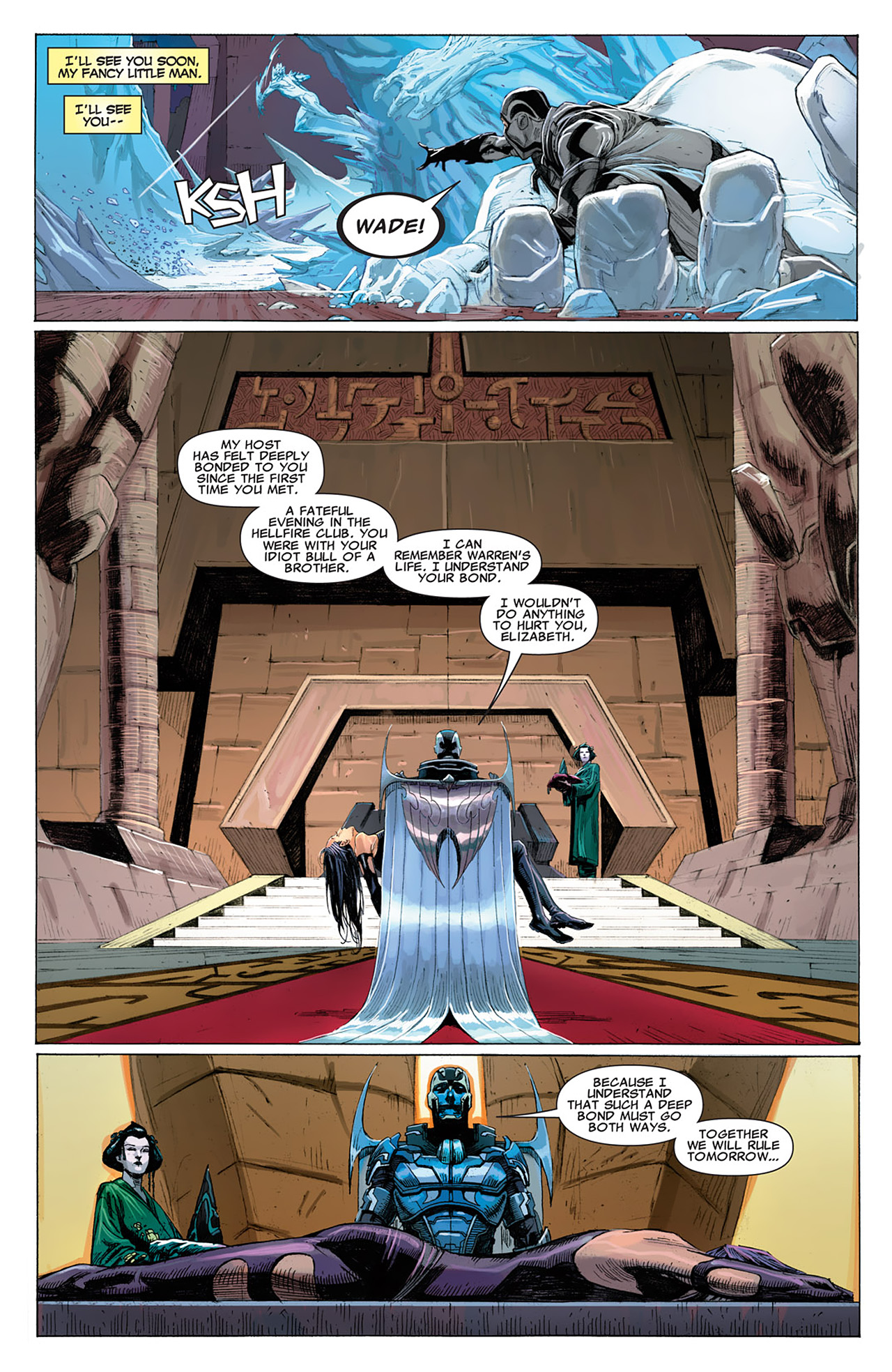 Read online Uncanny X-Force (2010) comic -  Issue #16 - 18