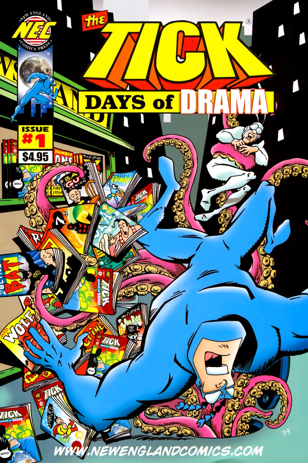 Read online The Tick: Days of Drama comic -  Issue #1 - 1