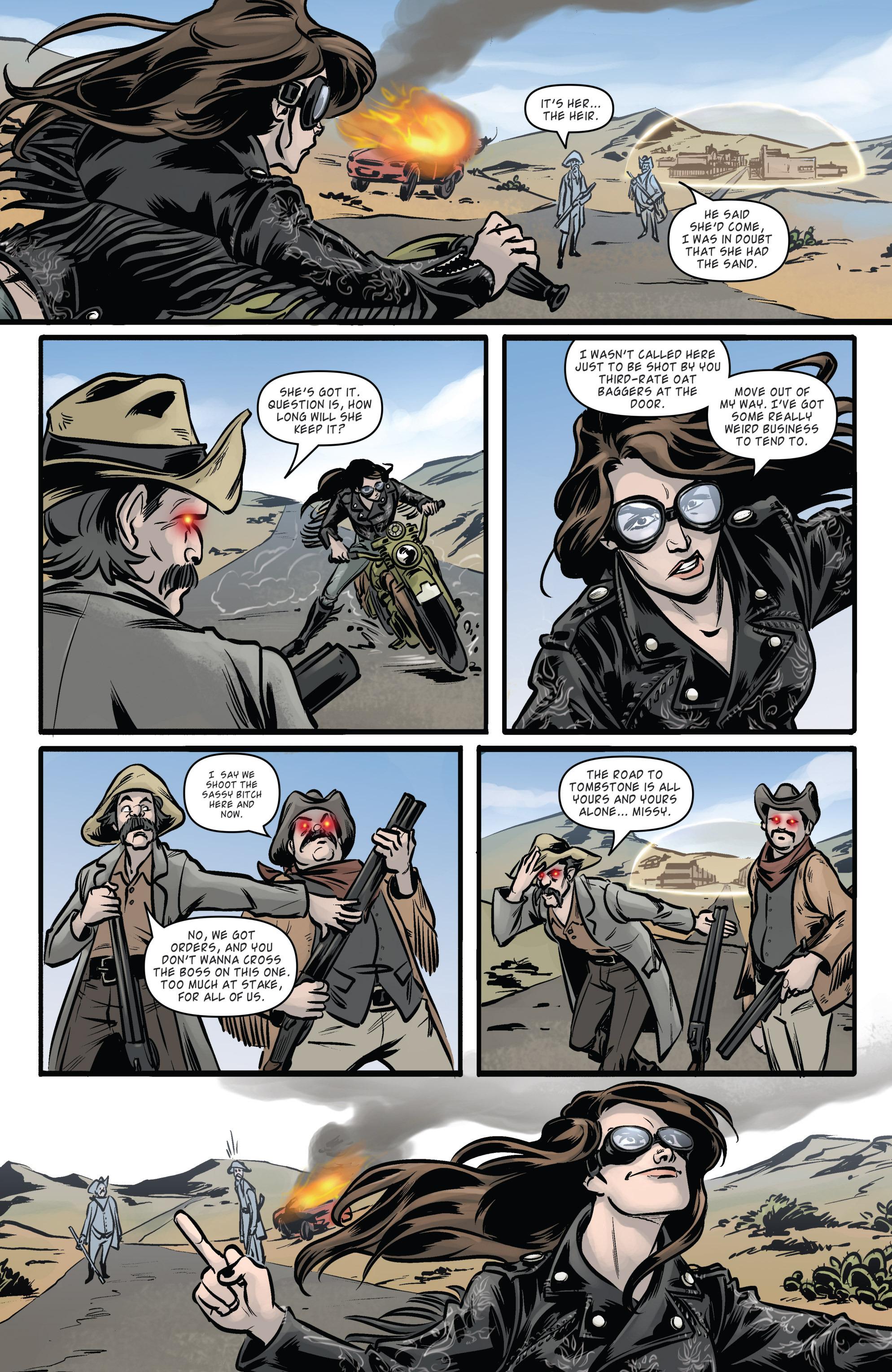 Read online Wynonna Earp (2016) comic -  Issue #5 - 9