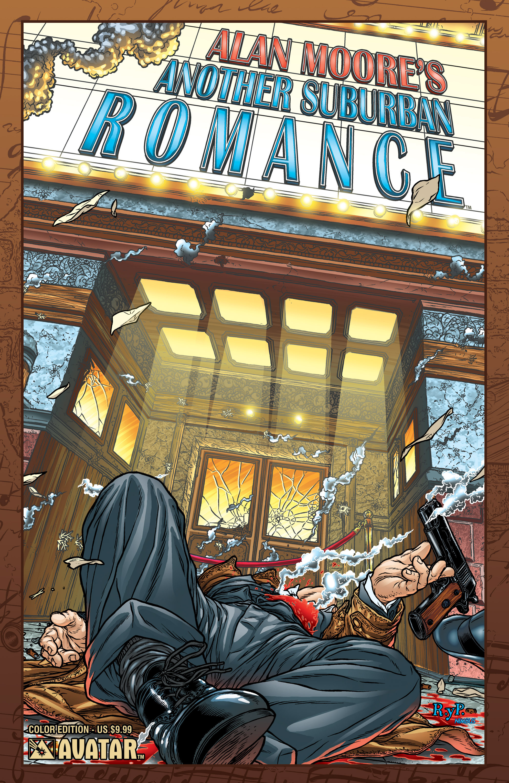 Read online Alan Moore's Another Suburban Romance comic -  Issue #Alan Moore's Another Suburban Romance Full - 1
