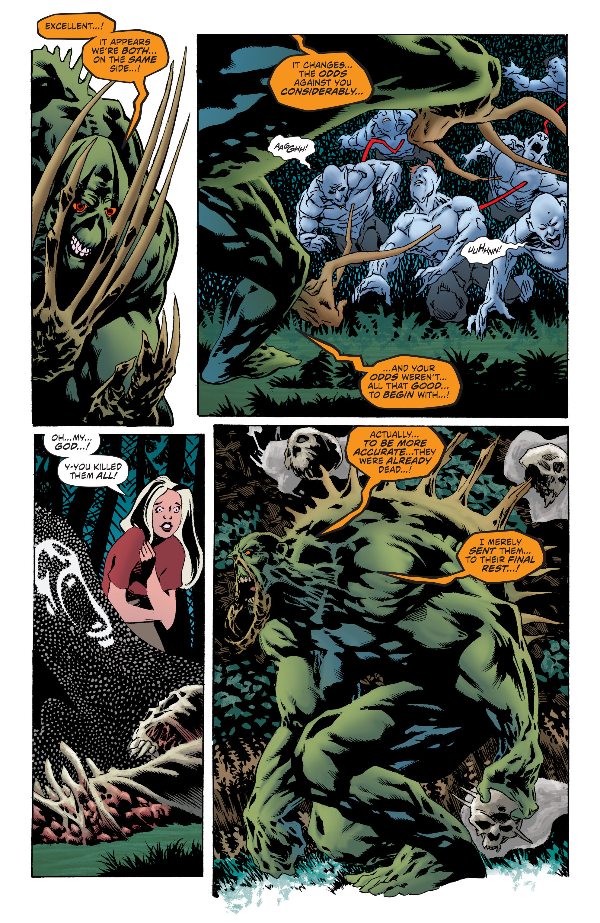 Read online Convergence Swamp Thing comic -  Issue #2 - 6