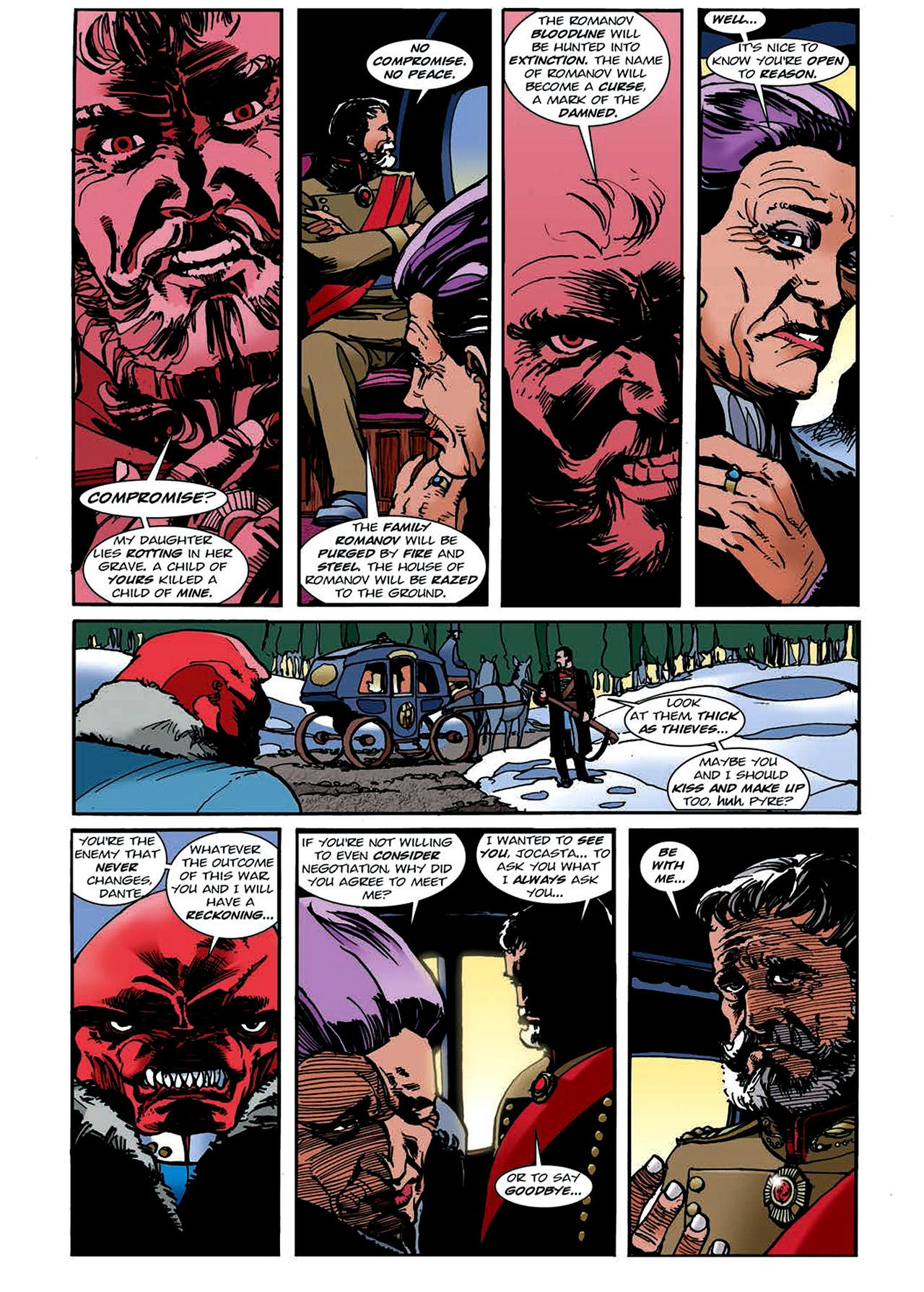 Read online Nikolai Dante comic -  Issue # TPB 4 - 123