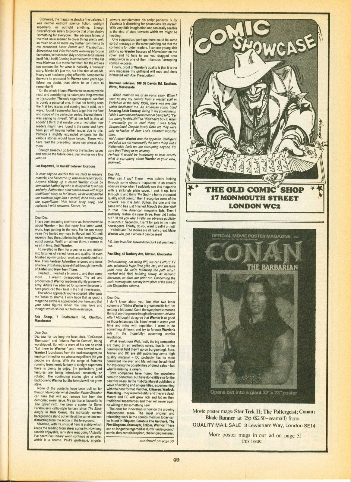 Warrior Issue #7 #8 - English 49