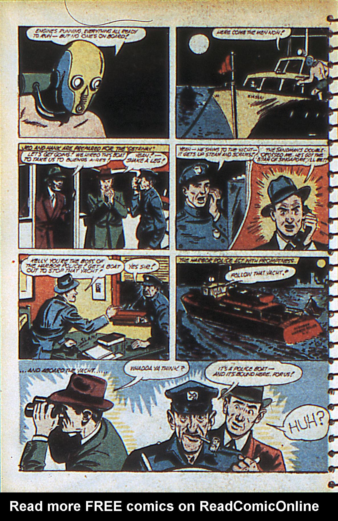Read online Adventure Comics (1938) comic -  Issue #55 - 61