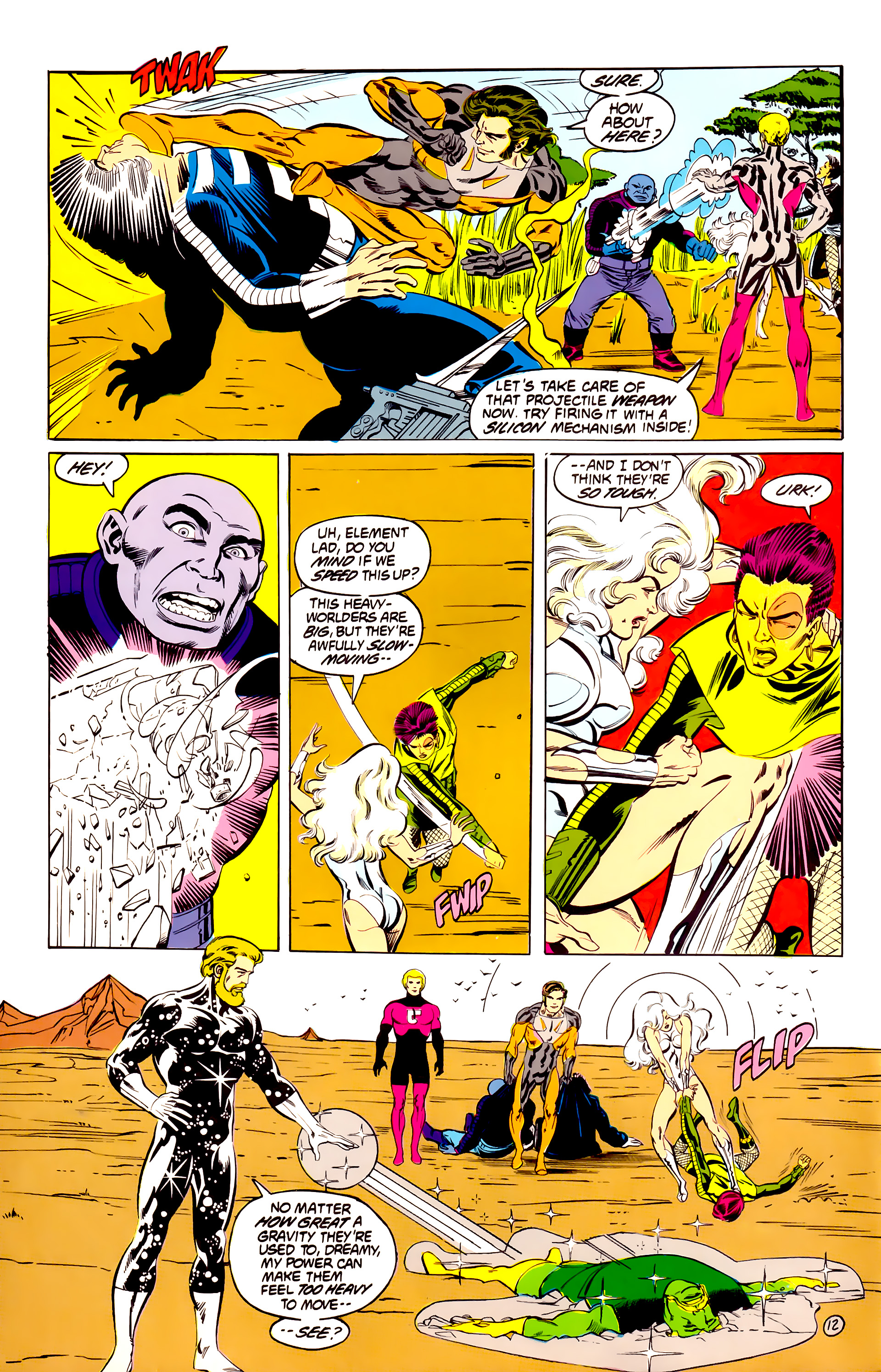 Legion of Super-Heroes (1984) 40 Page 12