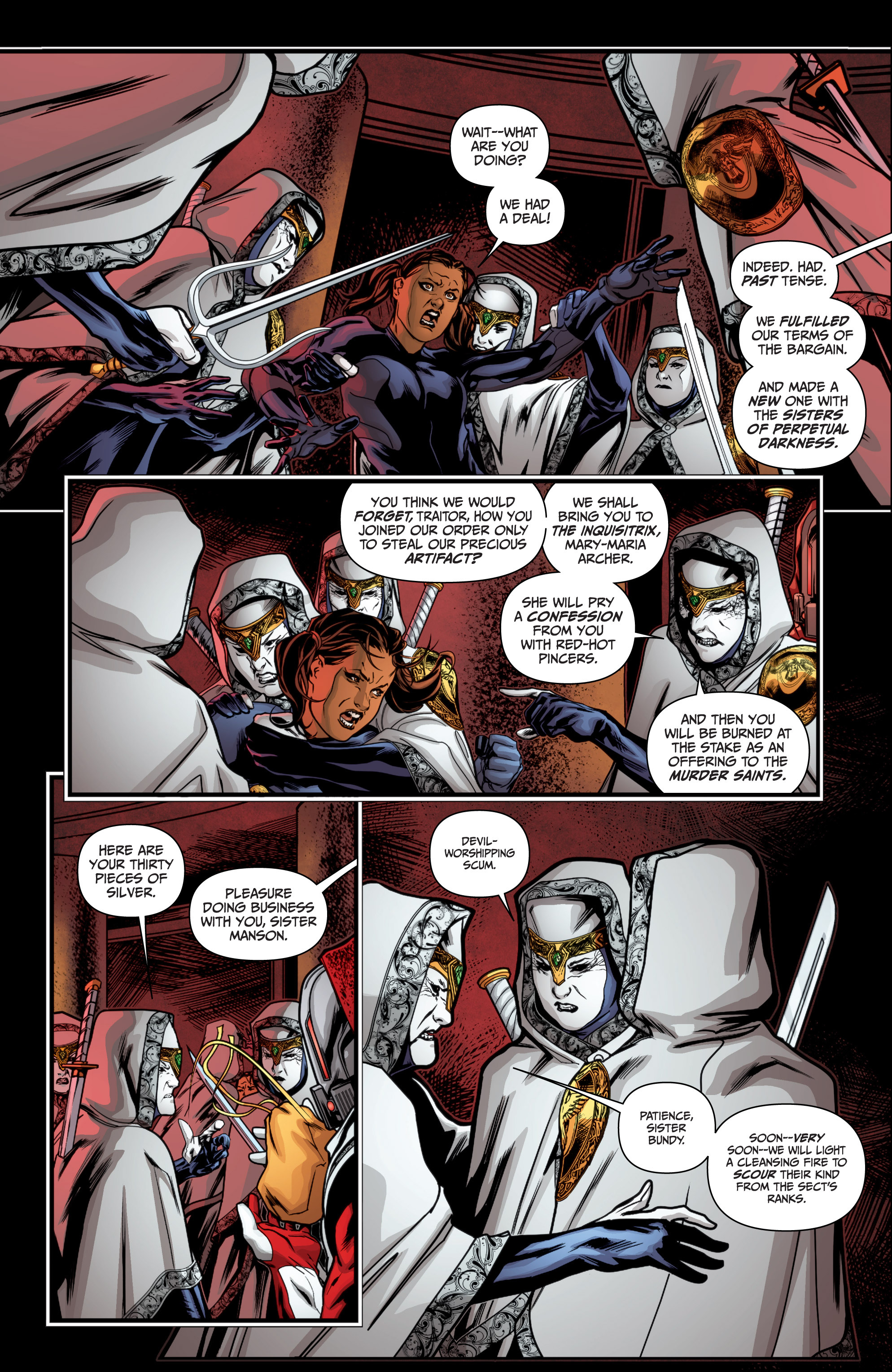 Read online Archer and Armstrong comic -  Issue #Archer and Armstrong _TPB 4 - 25