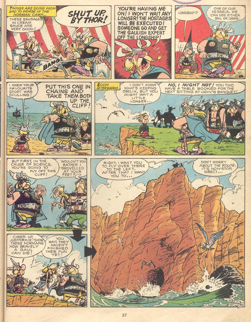 Read online Asterix comic -  Issue #9 - 34