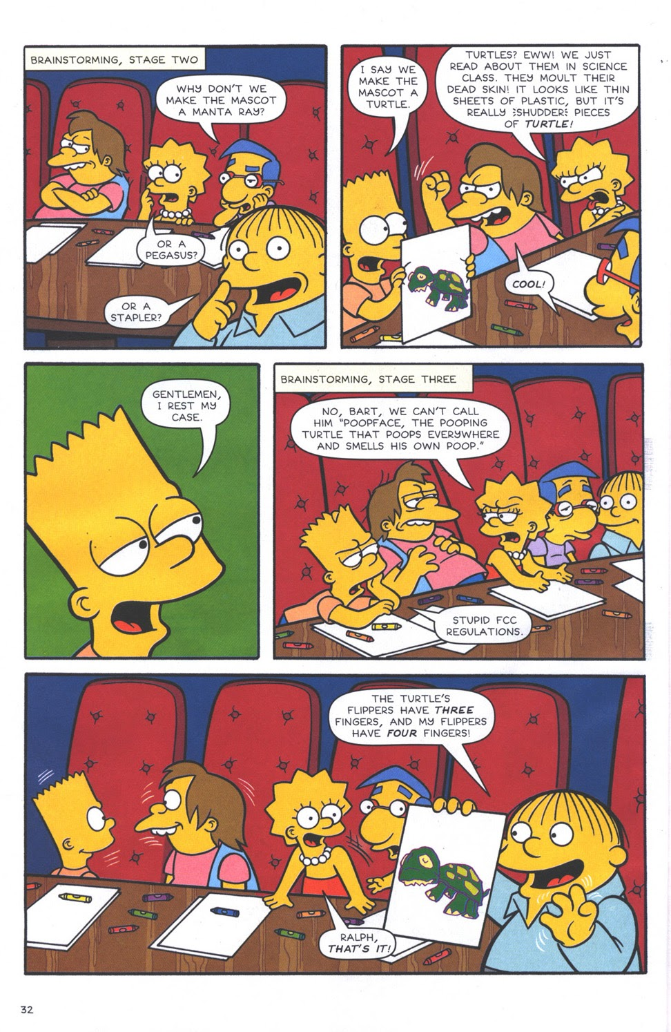 Read online The Simpsons Winter Wingding comic -  Issue #3 - 34