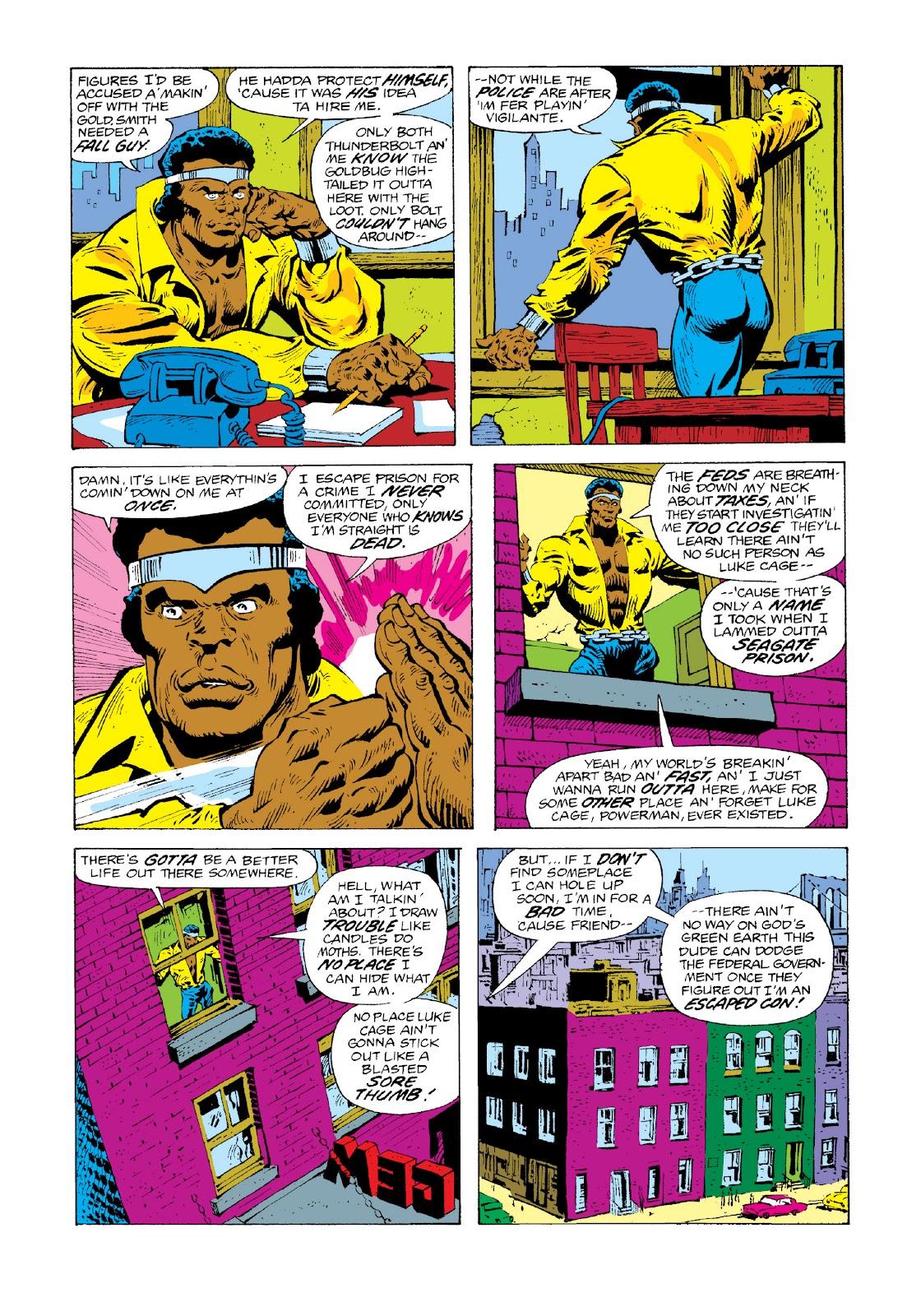 Read online Marvel Masterworks: Luke Cage, Power Man comic -  Issue # TPB 3 (Part 3) - 12