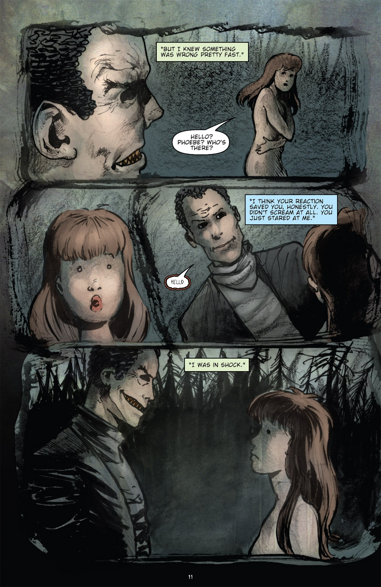 Read online 30 Days of Night (2011) comic -  Issue #3 - 15