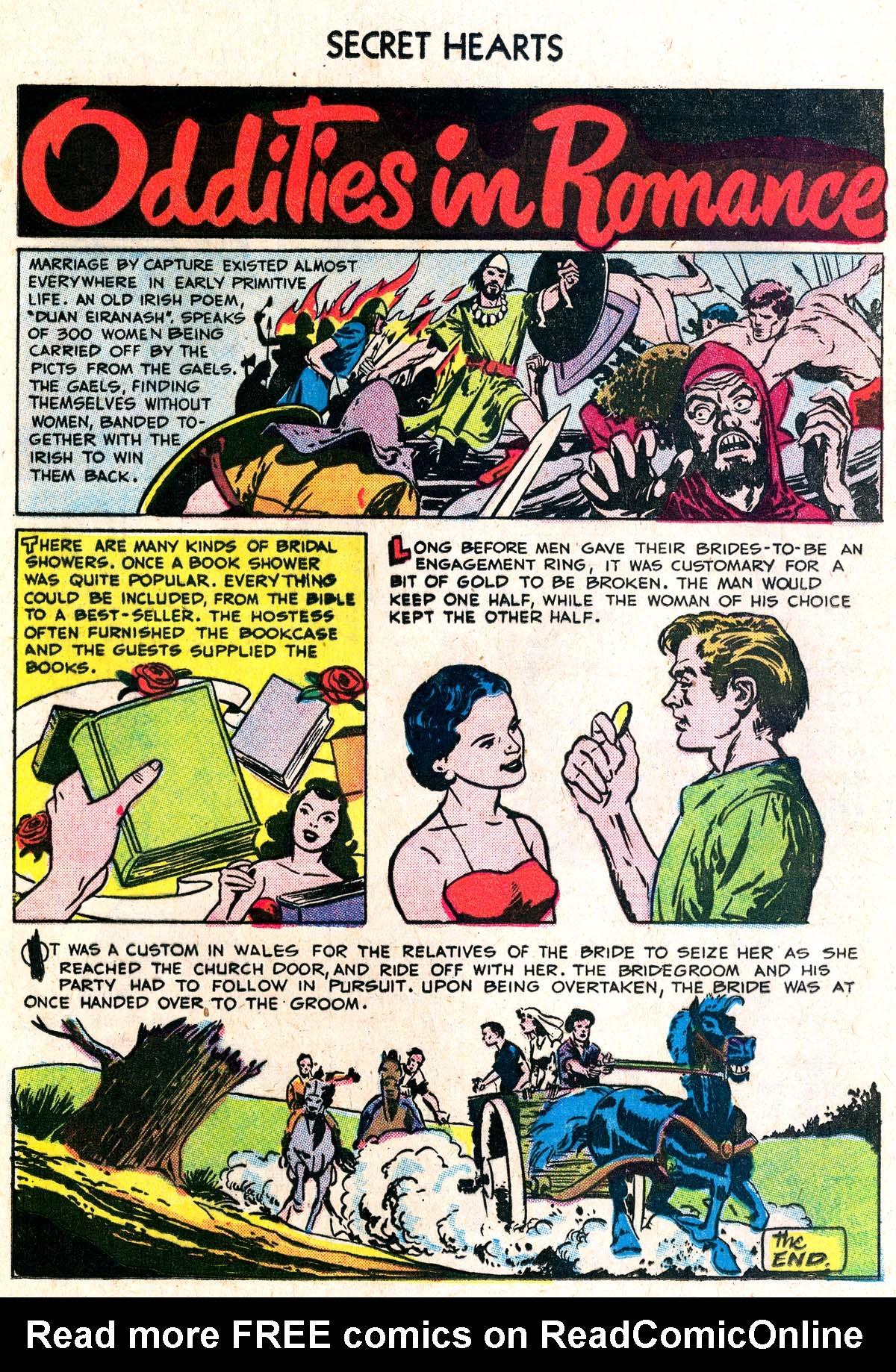 Read online Secret Hearts comic -  Issue #38 - 24