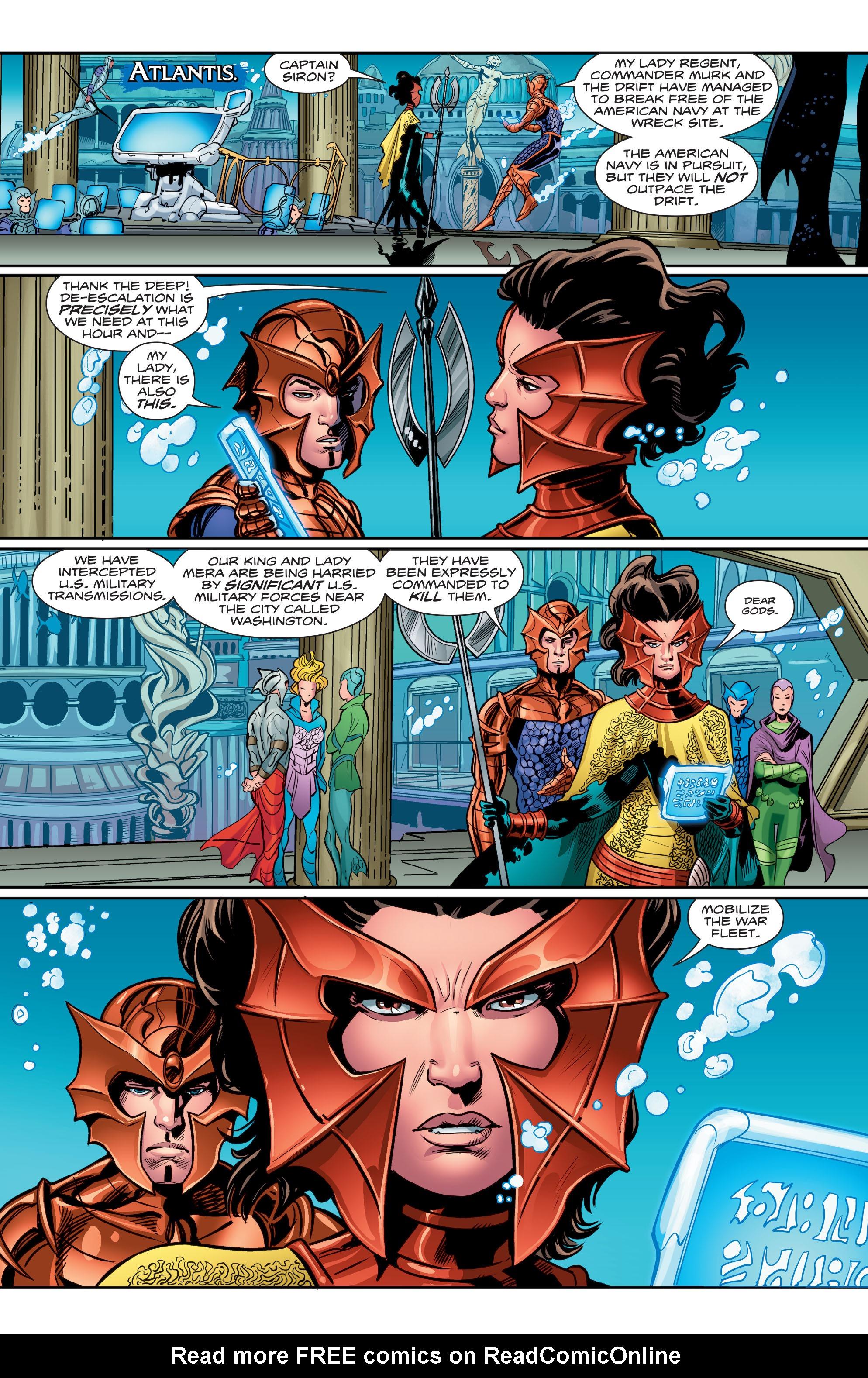 Read online Aquaman (2016) comic -  Issue #5 - 17