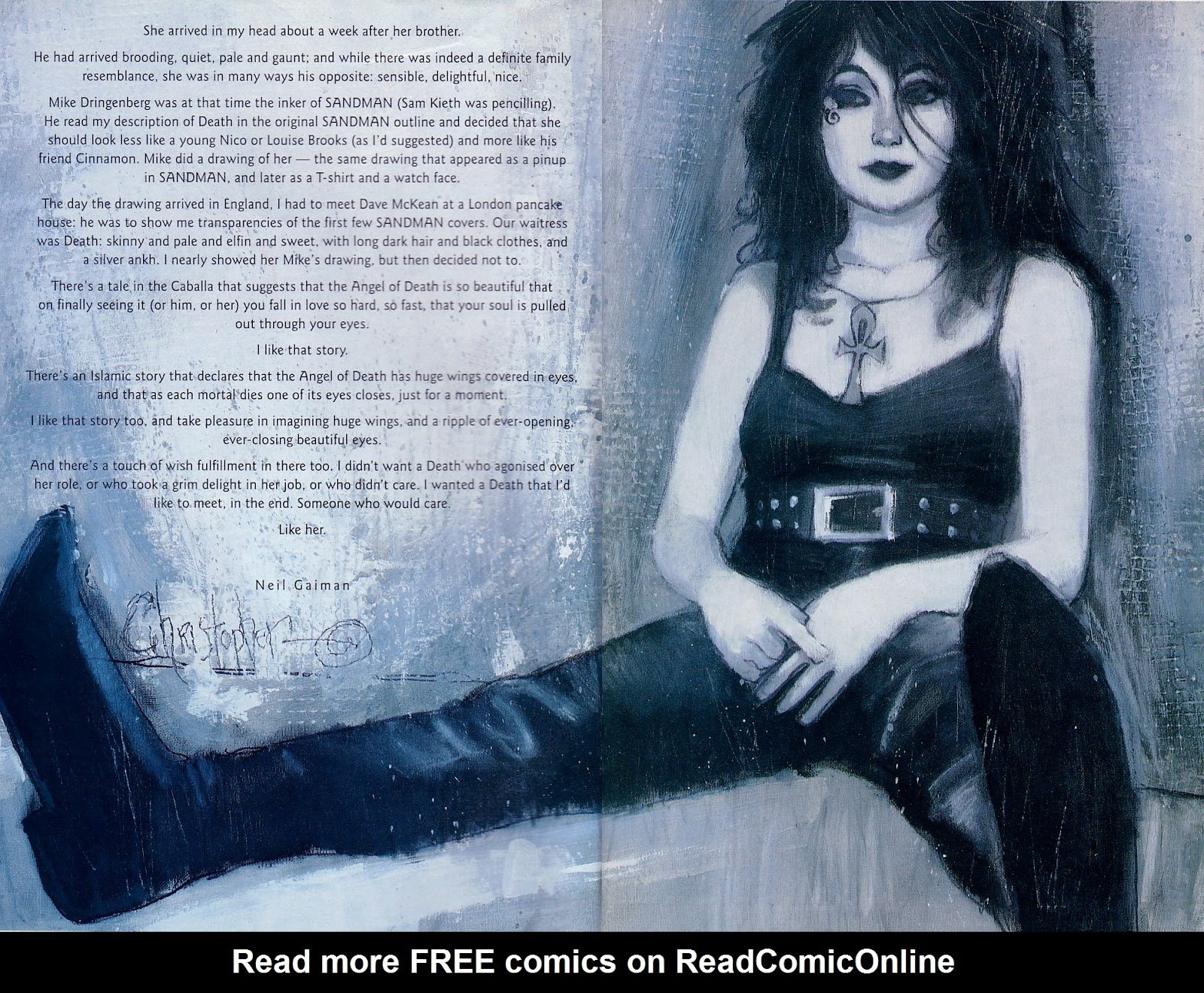 Read online A Death Gallery comic -  Issue # Full - 3