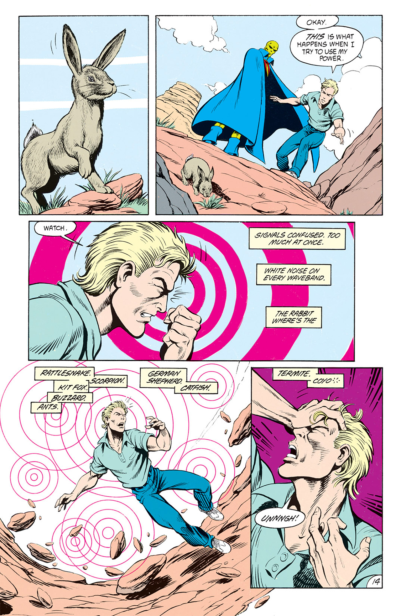 Read online Animal Man (1988) comic -  Issue #9 - 16