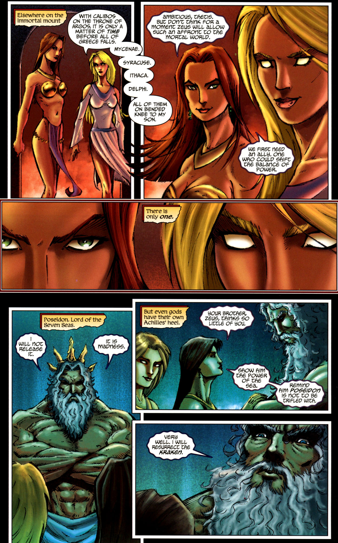 Read online Wrath of the Titans comic -  Issue #4 - 8