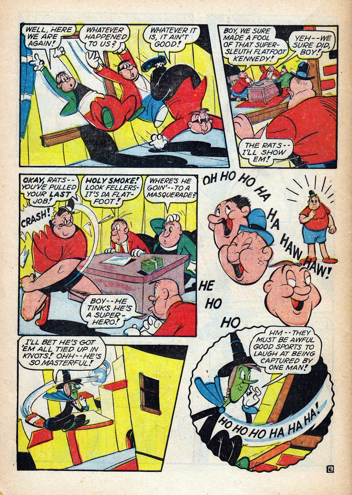 Read online Comedy Comics (1942) comic -  Issue #15 - 58