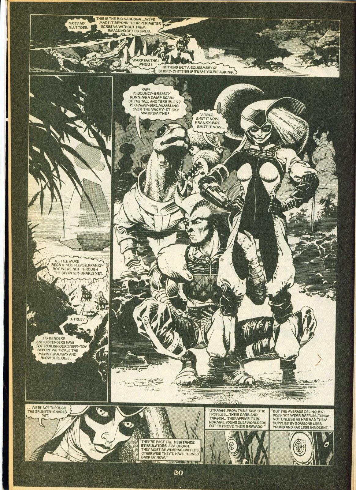 Warrior Issue #9 #10 - English 20