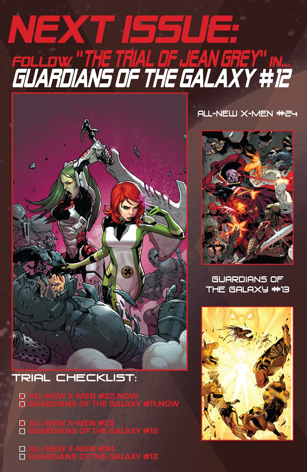 Guardians of the Galaxy/All-New X-Men: The Trial of Jean Grey issue TPB - Page 60