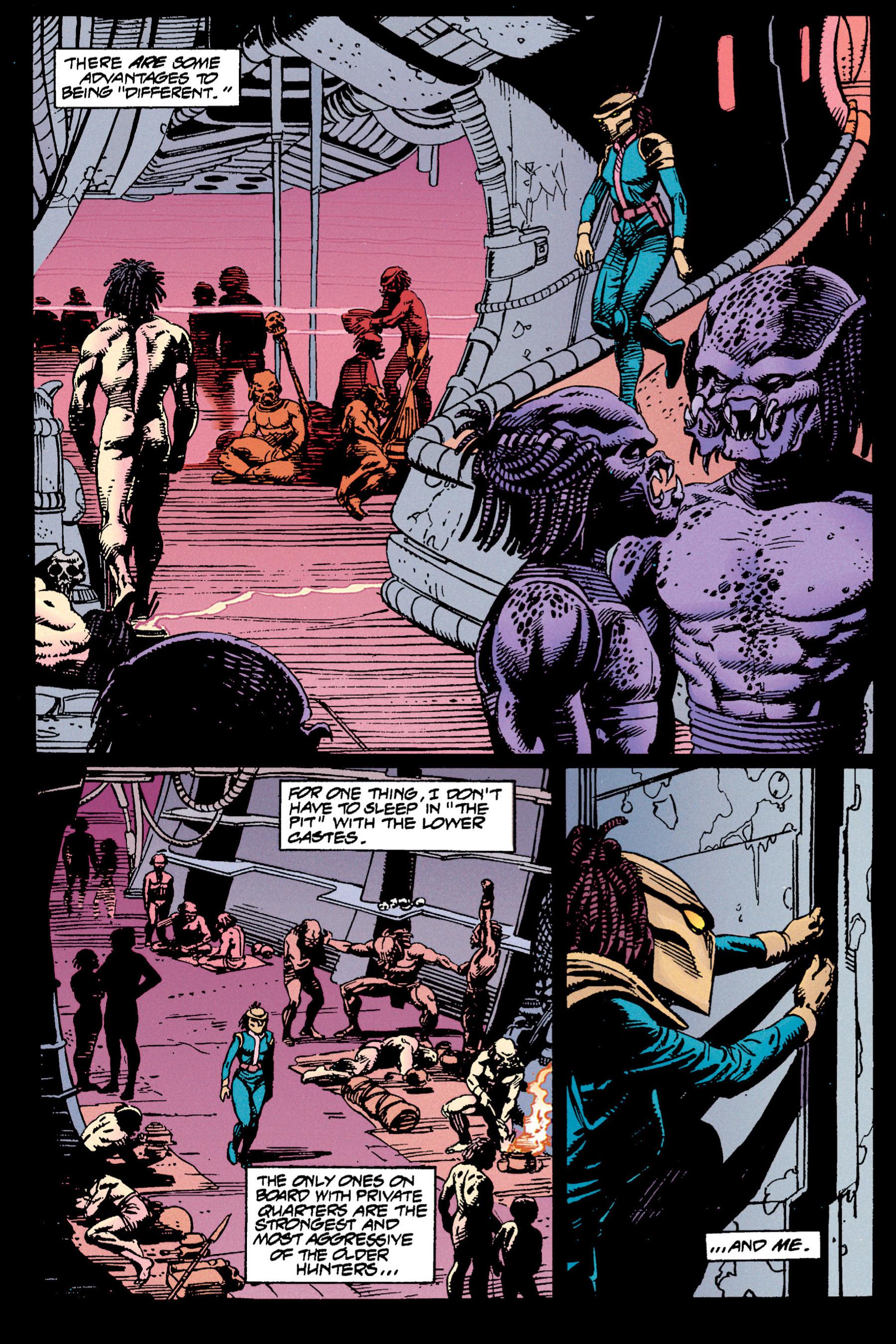 Read online Aliens vs. Predator Omnibus comic -  Issue # _TPB 1 Part 3 - 45