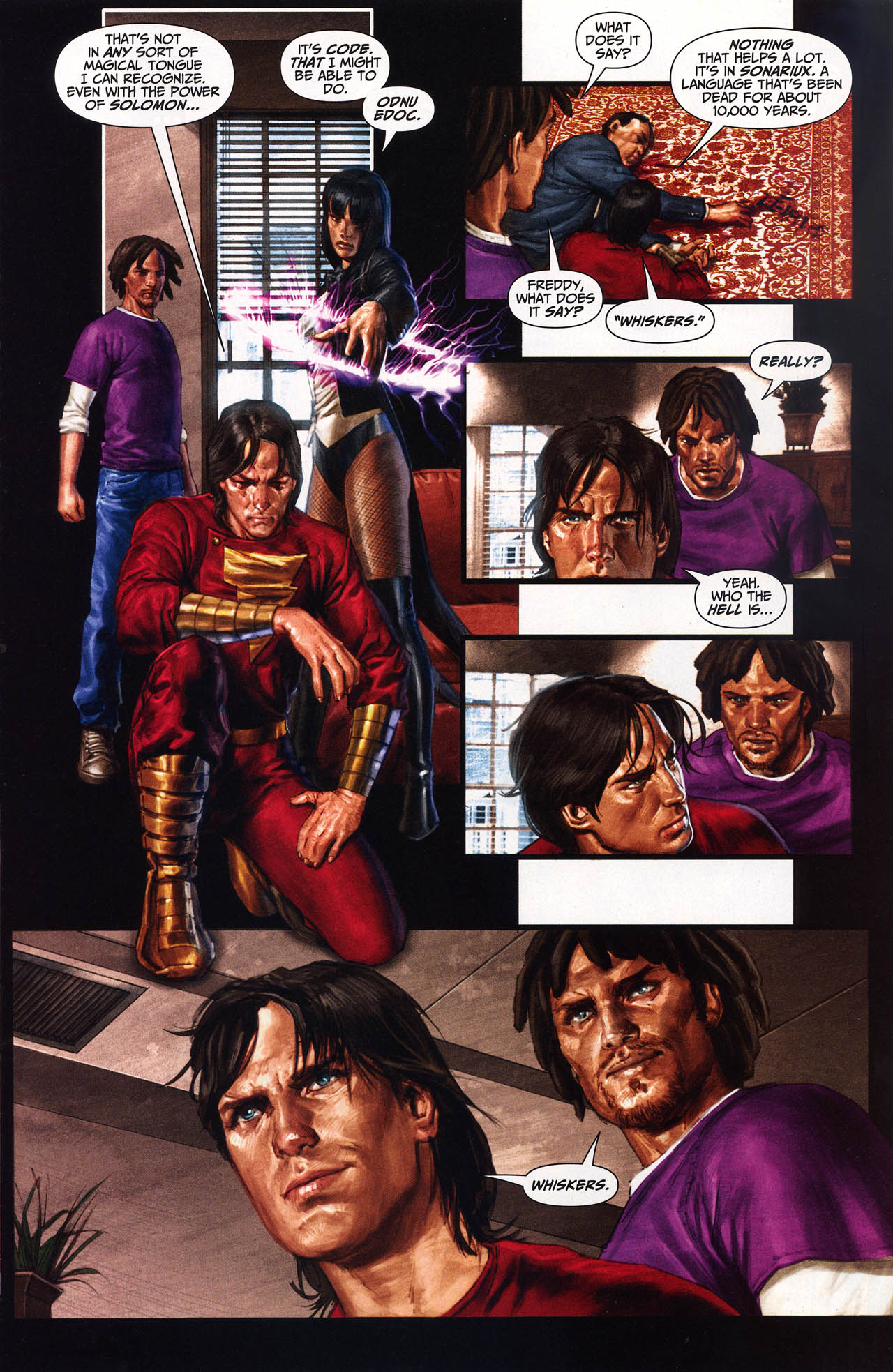 Read online Trials of Shazam comic -  Issue #10 - 12