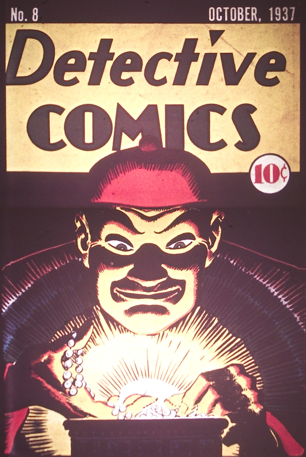 Detective Comics (1937) 8 Page 0
