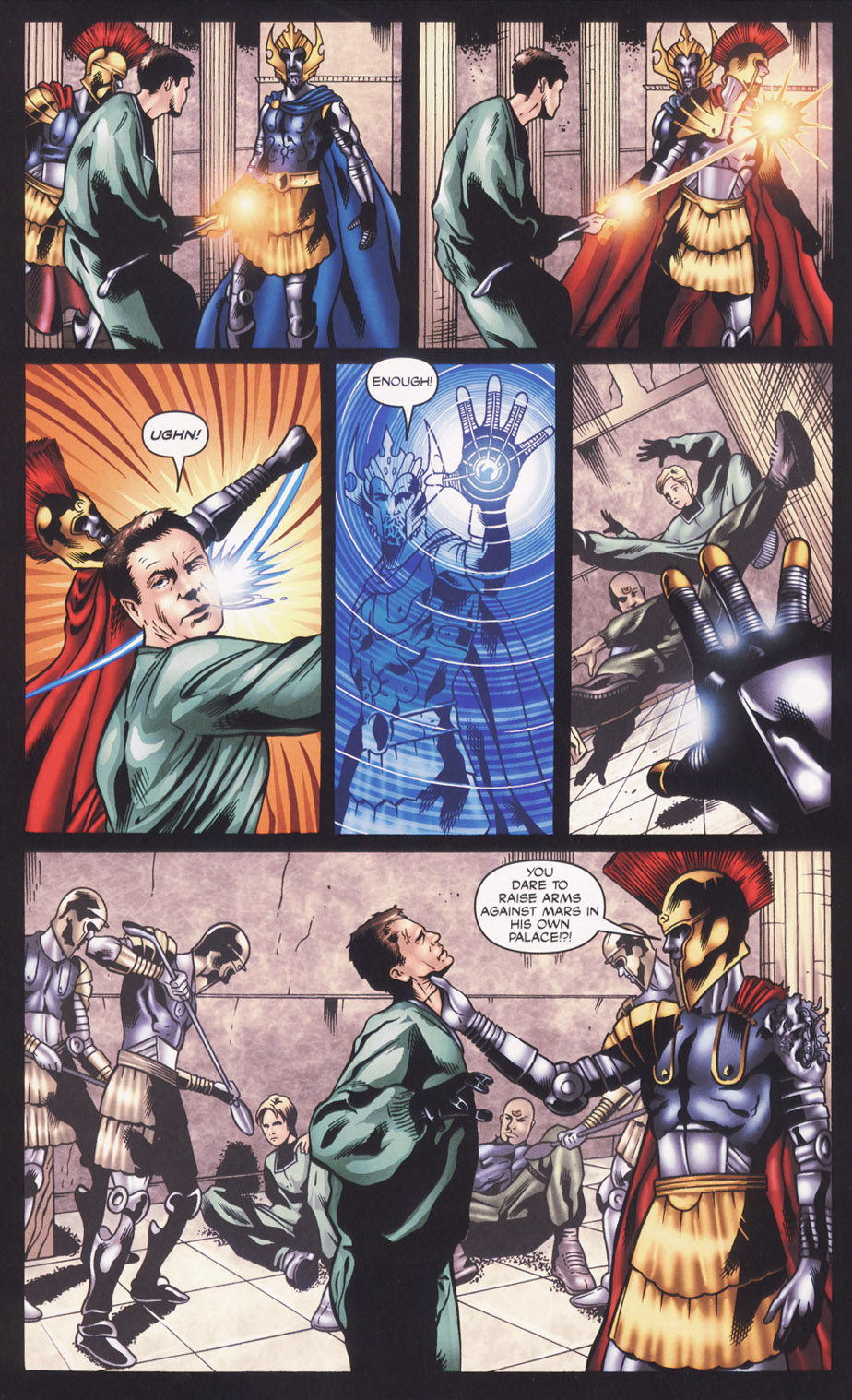 Read online Stargate SG-1: Fall of Rome comic -  Issue #2 - 16
