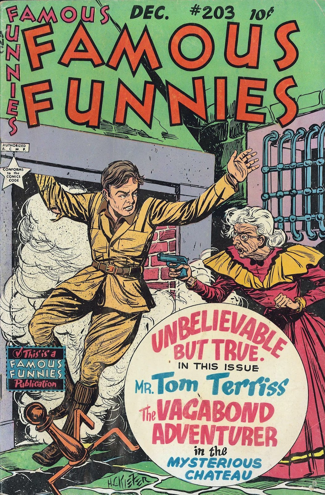 Read online Famous Funnies comic -  Issue #203 - 1