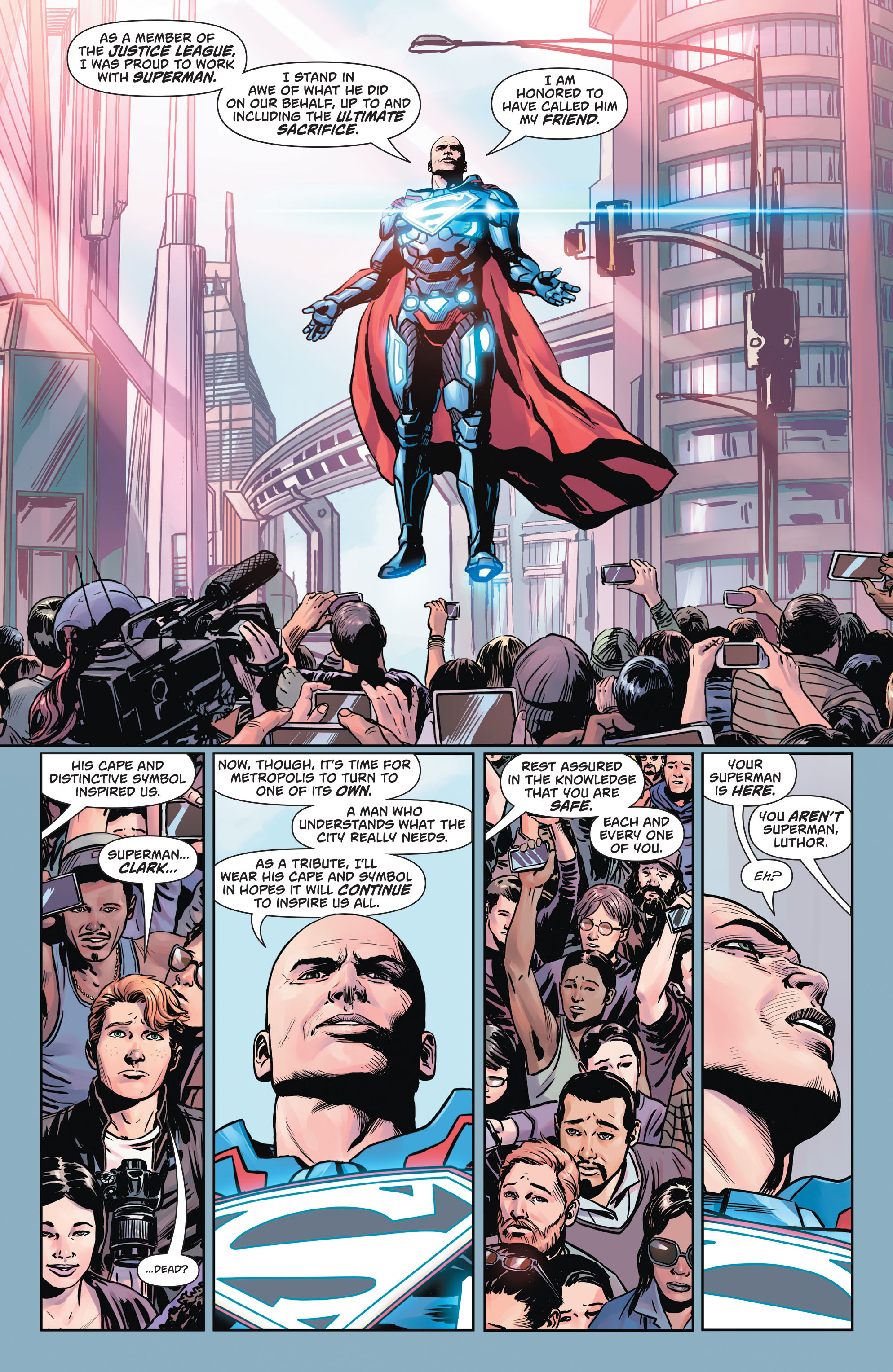 Read online Action Comics (2016) comic -  Issue #957 - 13