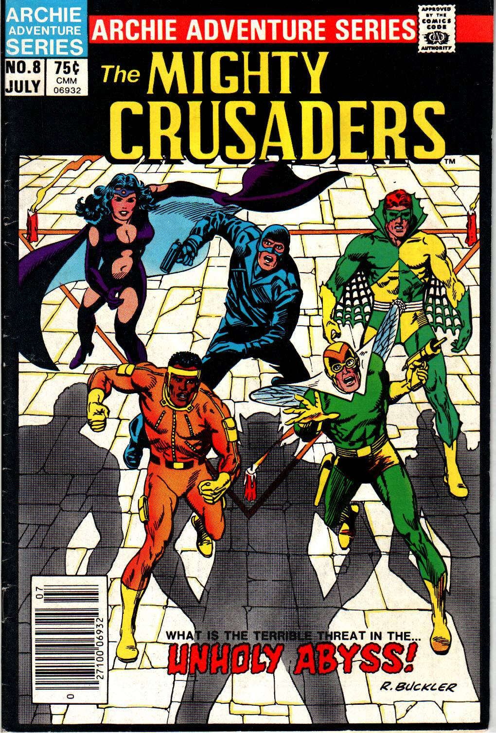 The All New Adventures of the Mighty Crusaders 8 Page 1