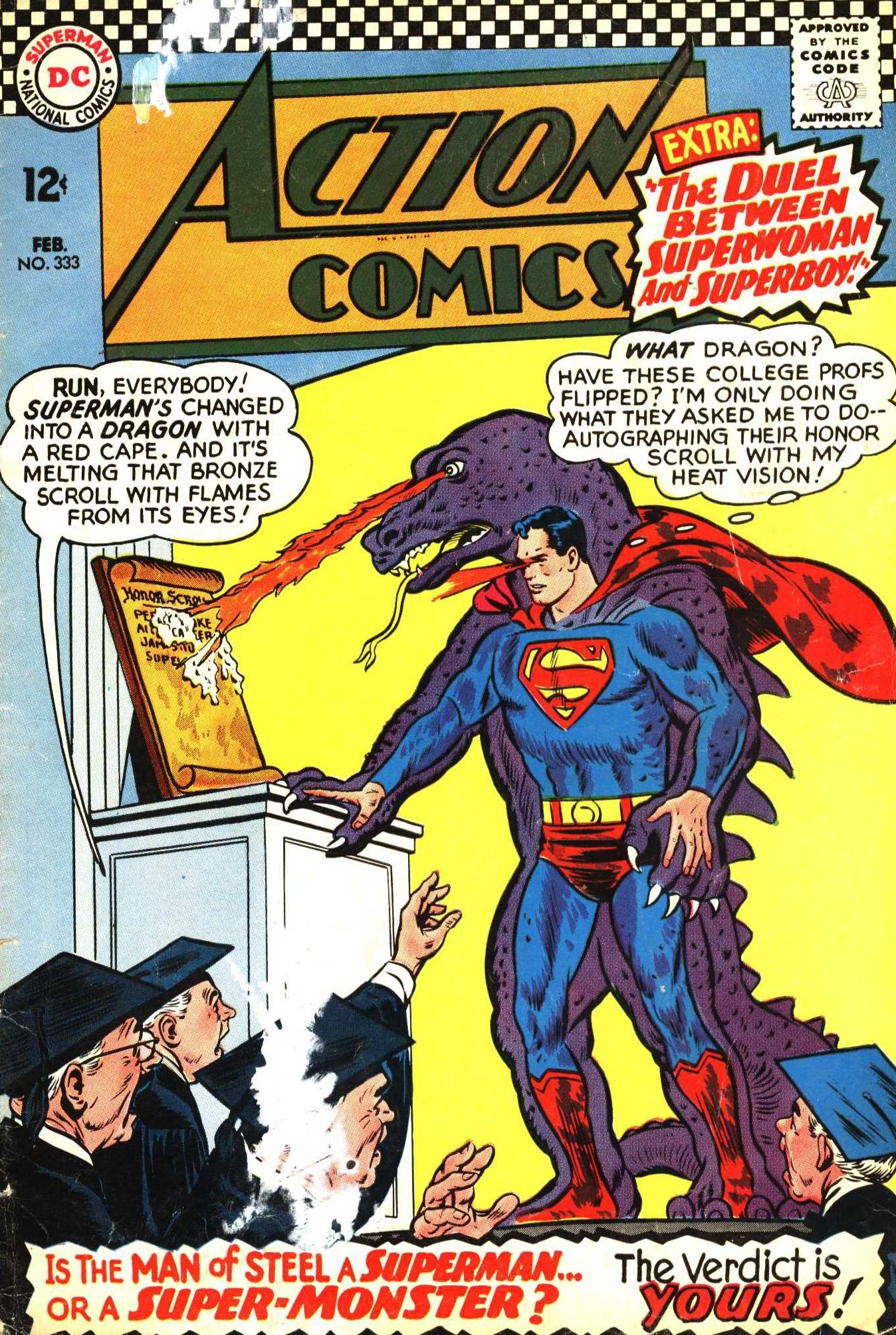 Read online Action Comics (1938) comic -  Issue #333 - 1