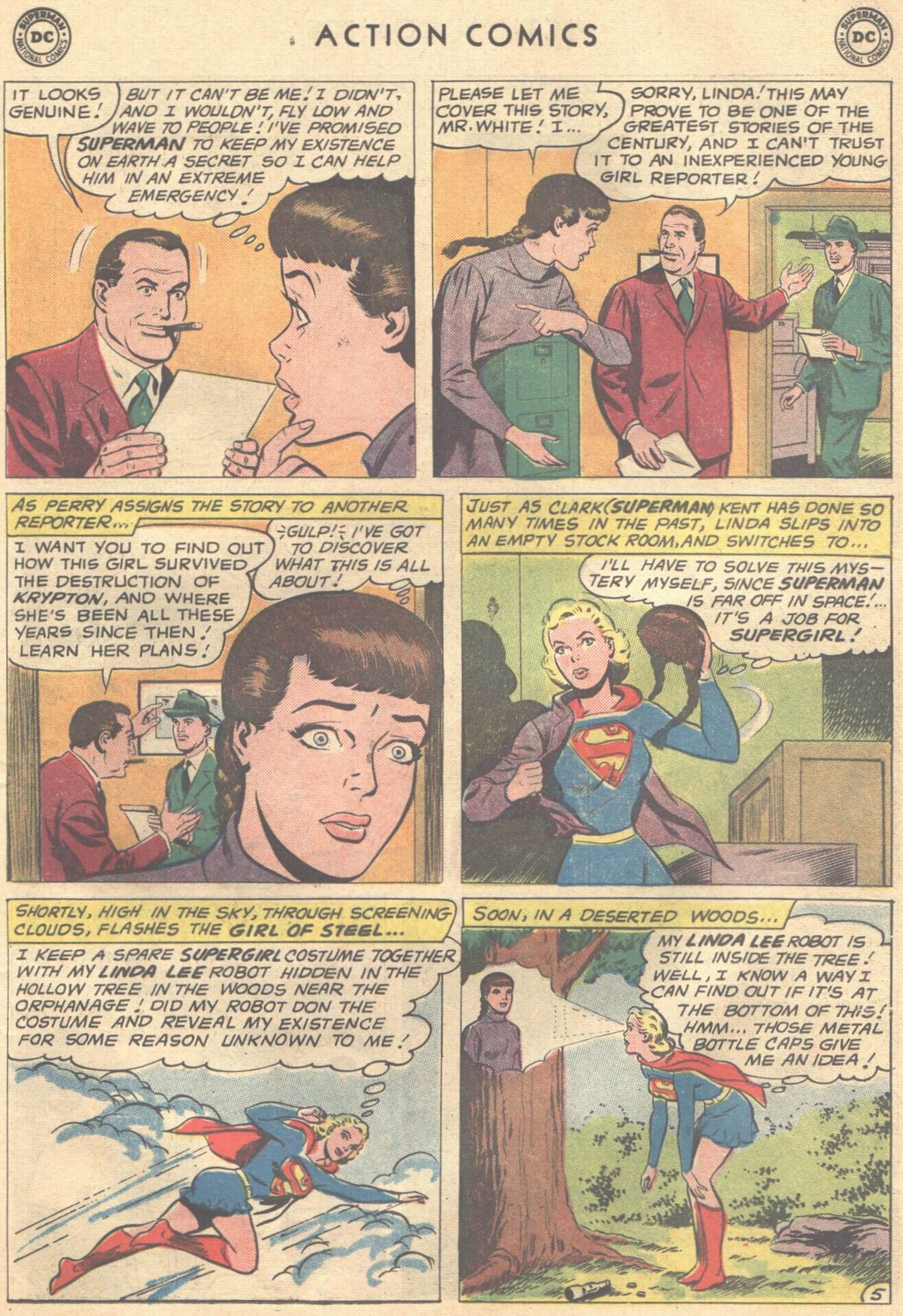 Read online Action Comics (1938) comic -  Issue #268 - 23