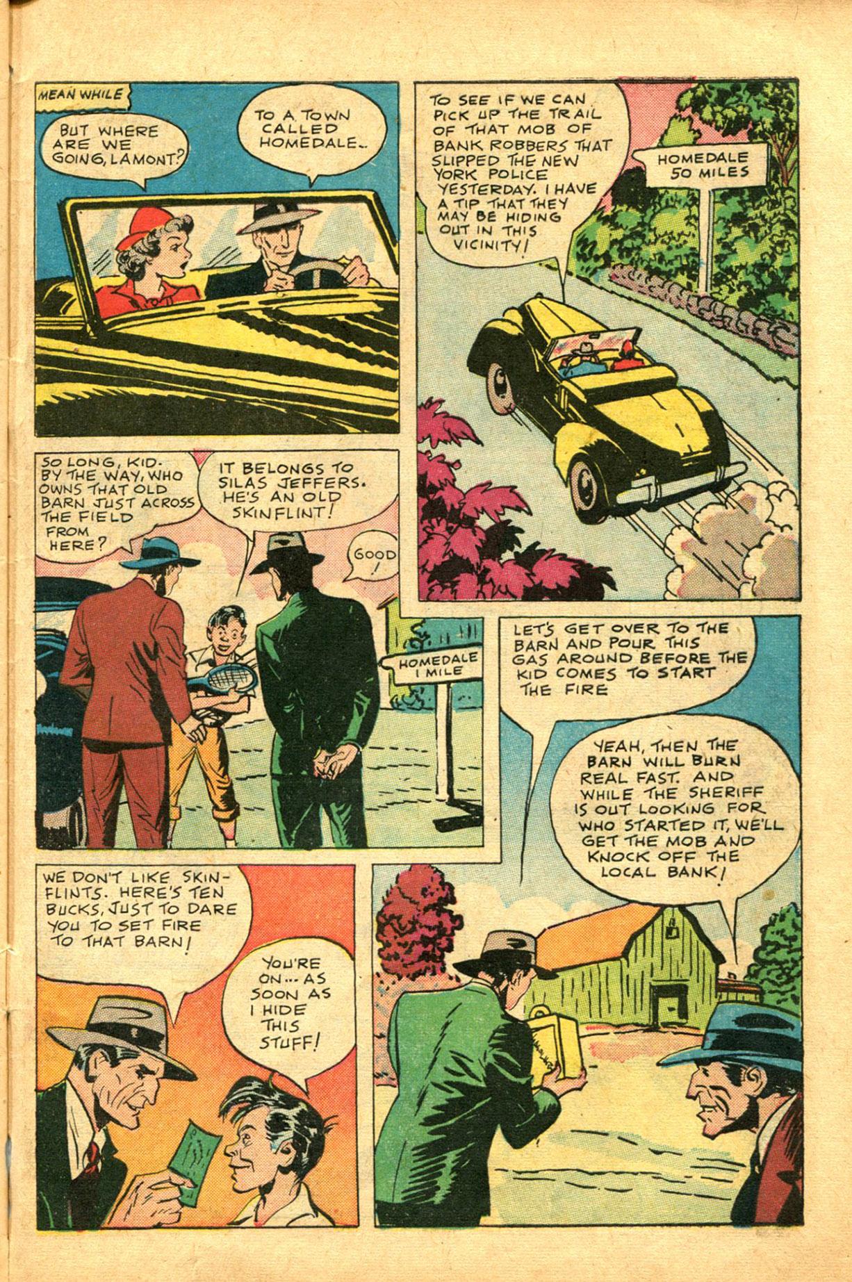 Read online Shadow Comics comic -  Issue #78 - 43