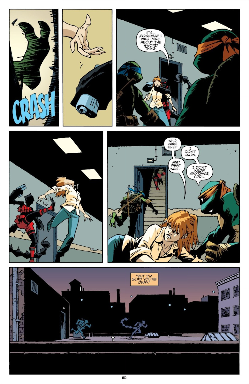 Read online Teenage Mutant Ninja Turtles: The IDW Collection comic -  Issue # TPB 8 (Part 2) - 49