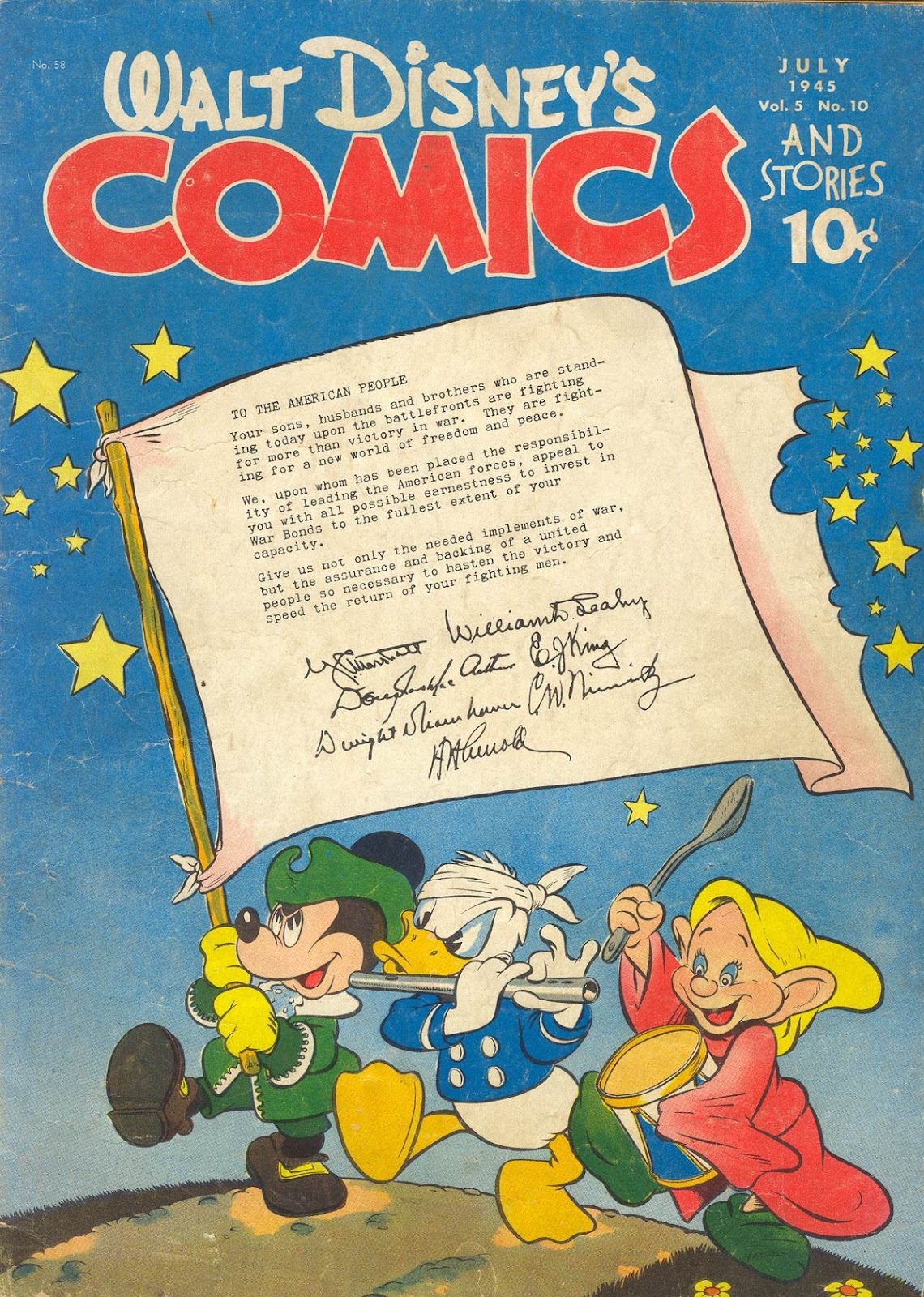 Walt Disney's Comics and Stories issue 58 - Page 1