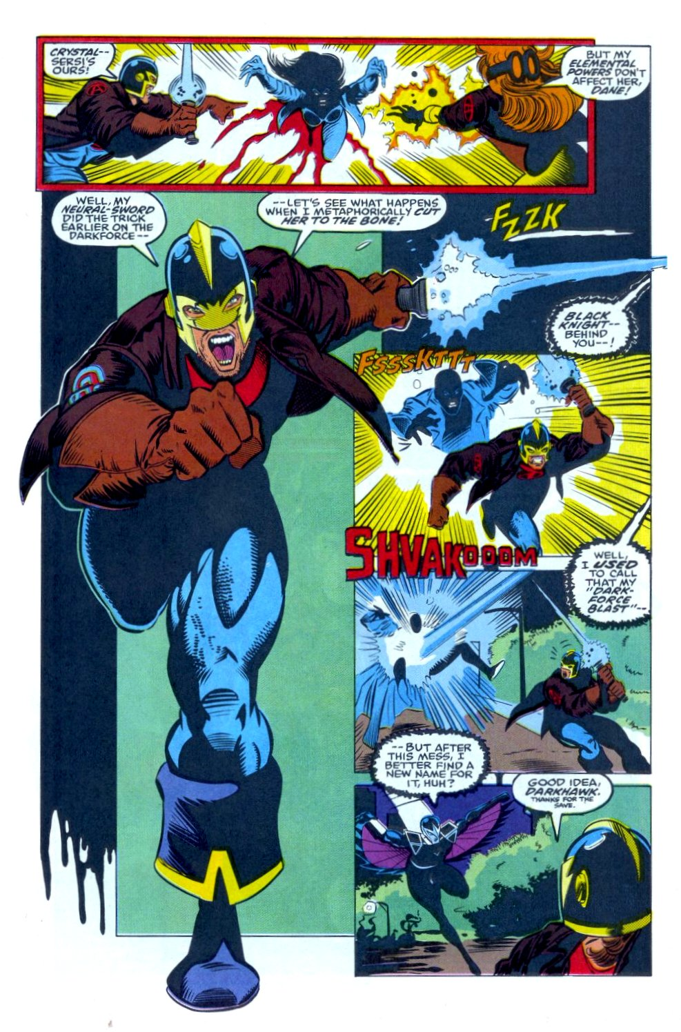 The New Warriors Issue #34 #38 - English 12